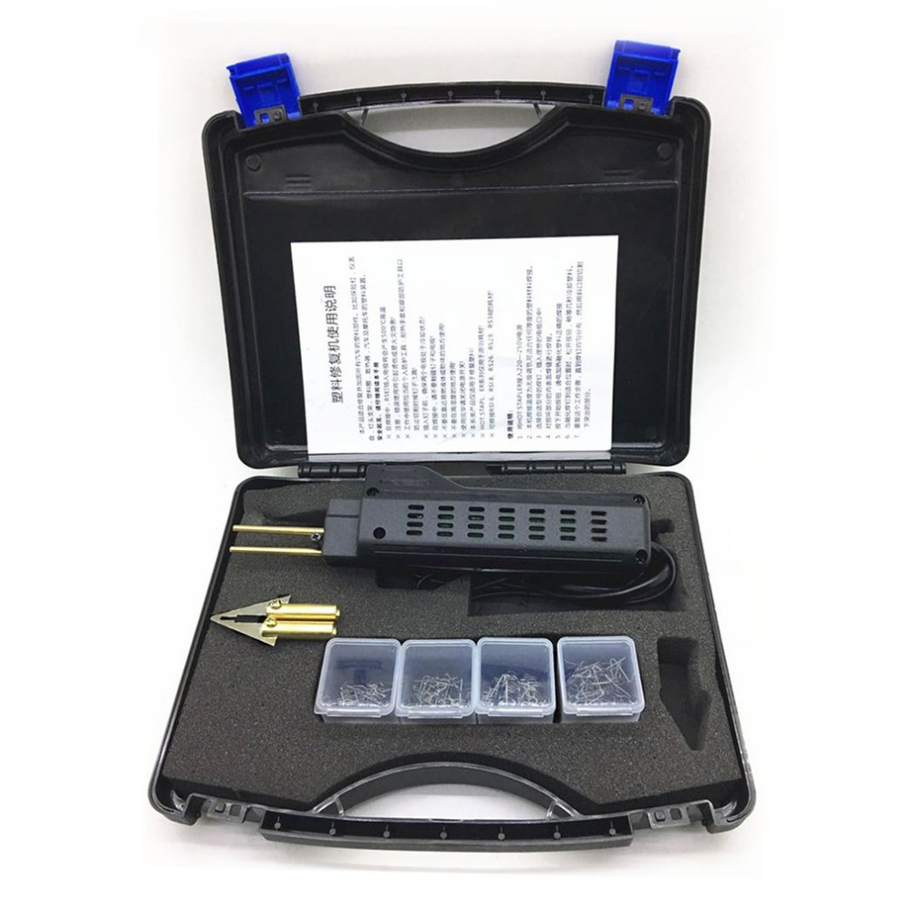 Professional Plastic Repair System Welding Bumper Fairing Auto Body Tool With Practical Staple Plastic Welding Machine