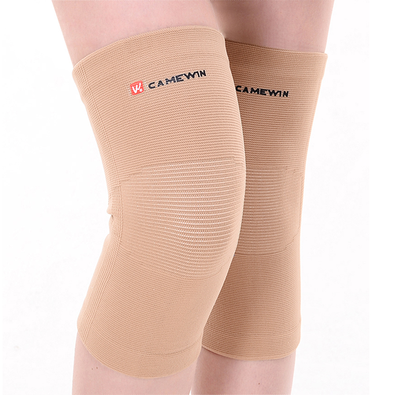 1 Pair CAMEWIN Brand Knee Pads Support High Elasticity Outdoor Kneepad Prevent Arthritis Injury Sports Knee Guard Elbow Warm Gym