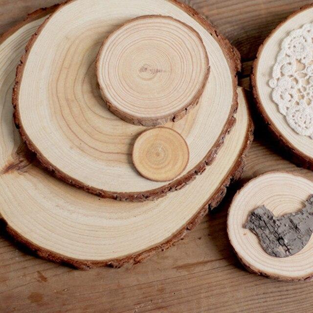 Aliexpress buy sale 1pcs thickness 1cm wood log wood gift sale 1pcs thickness 1cm wood log wood gift tags wedding decoration mariage vintage wedding decoration rustic junglespirit Gallery