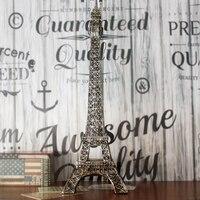 American retro ornaments Paris Eiffel Tower oversized environmental Crafts world classic architecture birthday present