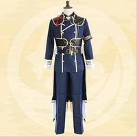 New Japan Anime The Sword Dance Touken Ranbu Cosplay Costume Nakigitsune Uniform Cool Man Samurai Uniforms