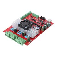 MACH3 CNC USB 100Khz Breakout Board 3 Axis Interface Driver Motion Controller 11.7x17.5cm USB CNC Controller Card