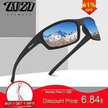 20/20 Optical Brand Design New Polarized Sunglasses Men Fashion Male Eyewear Sun Glasses Travel Fishing Oculos Gafas PL66 No Box
