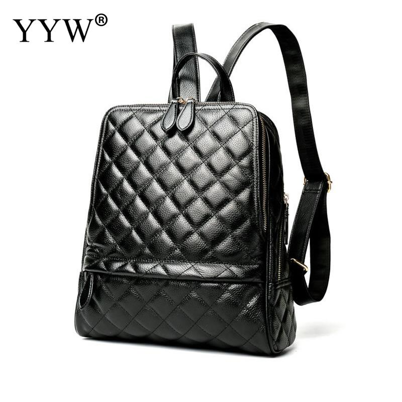 Fashion Black PU Leather Backpack Female Orange Plaid Backpacks for Adolescent Girls Women Red Spliced Casual Small School Bag brief adolescent therapy homework planner