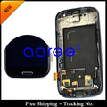 4.8 «super amoled para samsung galaxy s3 neo i9300i LCD S3 I9300 screen Display LCD Digitador Assembléia com quadro