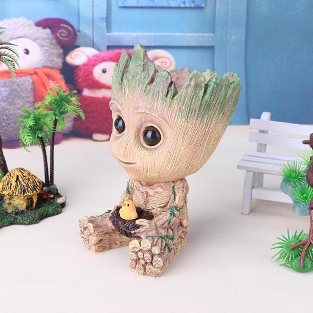 Baby Groot Figure Planter Pot Flowerpot Guardians Of The Galaxy  2