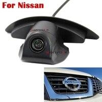 Fahrzeug Logo Mark HD CCD Farbe Auto Vorderansicht Kamera Speziell für NIssan Serie Nachtsicht Überwachungskamera
