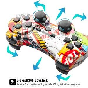 Image 5 - Mando inalámbrico Bluetooth para PS3, compatible con consola ps2, Playstation Dualshock 3