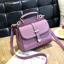 2017 luxury Leather handbag women bag designer female mini Messenger Bag vintage Ladies Small Shoulder bag Crossbody bolso mujer