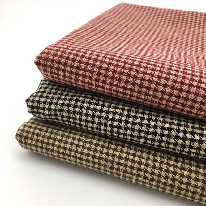 new 50x70cm yarn dyed fabric cloth small plaid 100 cotton patchwork fabric quilt cotton pattern. Black Bedroom Furniture Sets. Home Design Ideas