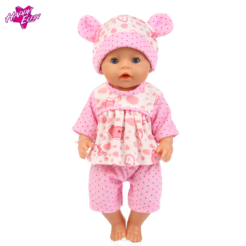 18in Doll Clothes Pink Hat + jumpsuits wear fit 43cm Baby Born zapf, Children best Birthday Gift 2color choose leisure dress doll clothes wear fit 43cm baby born zapf children best birthday gift only sell clothes