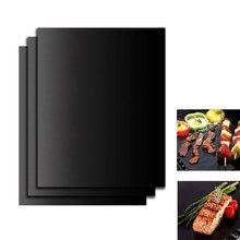 1PC BBQ Oven Grill Mat Heat Resistant Non-stick bbq Baking Pad Kitchen Tool