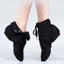 Lona jazz sapatos ankel comprimento botas de dança dividir sola sapatos de dança jazz para meninas crianças adultos crianças china tamanho 26-45