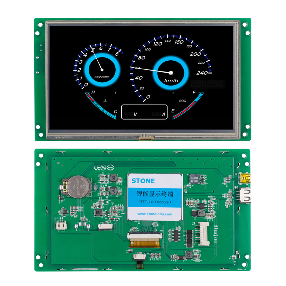 7 Full Color TFT LCD Module With RS232 Interface7 Full Color TFT LCD Module With RS232 Interface
