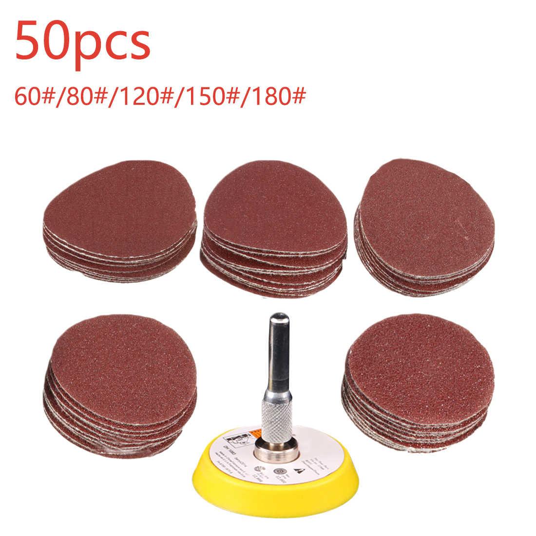 5x Hook /& Loop Sanding Disc Polishing Sander Pad Sandpaper 9 Inch 60-180 Grit