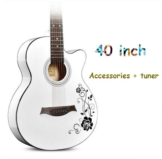 ANDREGuitar guitar 41 inch 40 inch acoustic guitar beginner beginner practice guitar student male and female musical instruments smart student s book beginner