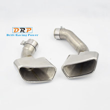Car-styling! The New type of Car Exhaust Pipe with its covers For BMW X5 series 09-13 Exhaust Muffler Tips Accessories