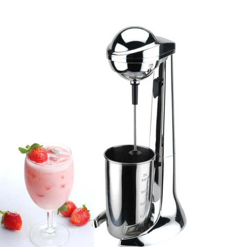 Milk shake machine agitator amalgamator mixing beater 110W 220V Blender Milkshake machine domestic milk cover Blizzard blender
