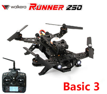 (In stock) Original Walkera Runner 250 Racing (Basic 3 Version ) with DEVO 7 transmitter RC Quadcopter Drone RTF 2.4GHz