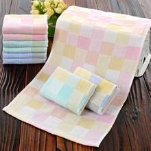 27x50cm 100% Pure cotton gauze free child towel Hand Towel wholesale Home Cleaning Face for baby Kids High Quality