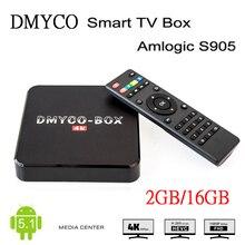 [Véritable] DMYCO-BOX H96plus Android 5.1 Smart TV Box Amlogic S905 2 GB 16 GB Quad-core Media Player Set Top Box Même comme H96 Plus