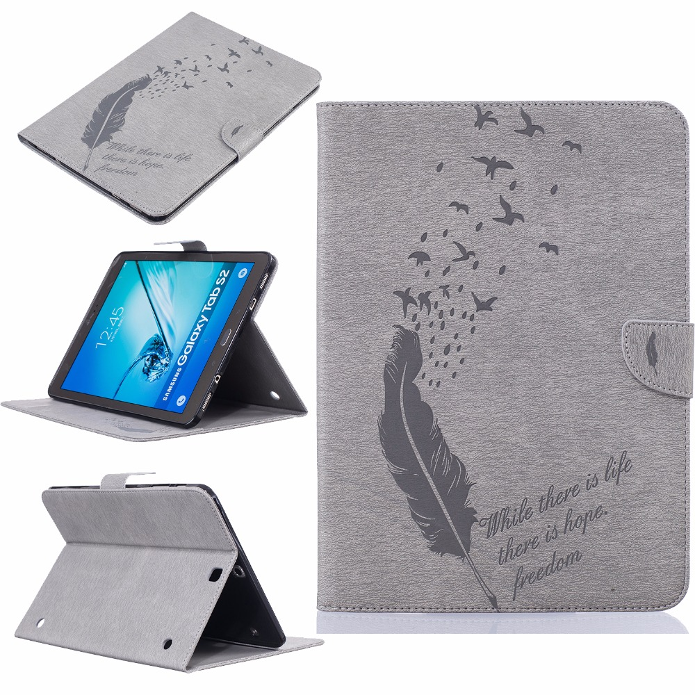 For Samsung Galaxy Tab S2 9.7 T810 Case Book Flip Folio PU Leather Stand Cover for Samsung Tab S2 T810 T815 SM-T815 Case Cover 360 rotation pu leather cover case for samsung galaxy tab s2 9 7 t810 t815 flip cases with stand function tablet case tylus film