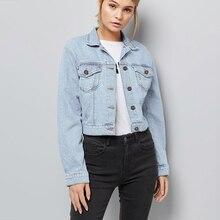Frazzle Blue Denim Jacket Women 2019 Spring Autumn Casual Vintage Ladies Jacket Women Coats Female Plus Size 3XL 4XL