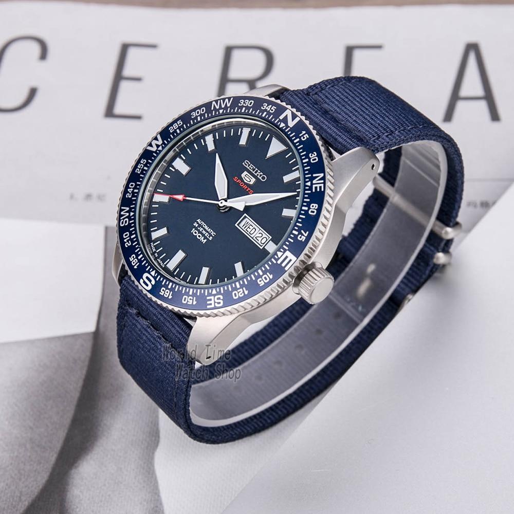 seiko watch men 5 automatic watch Luxury Brand Waterproof Sport Wrist Watch Date mens watches diving watch relogio masculino SKX