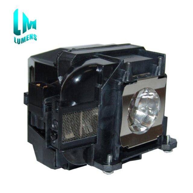 Lámpara de proyector Compatible con ELPLP88 V13H010L88, para Epson eh tw5350, eh tw5300, EB S27, EB X31 con carcasa