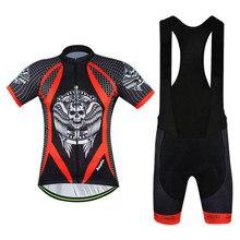 2016 Man's GEL Breathabkle Cycling Jerseys Ropa Ciclismo Cycling Clothing MTB Bike Clothing Rock Racing Bicycle Clothes Sets