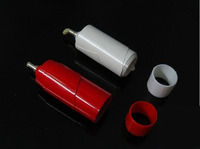 Vanishing Candle White Red Color 2pcs Lot Stage Magic Illusions Novelties Party Jokes Silk Magic Fire