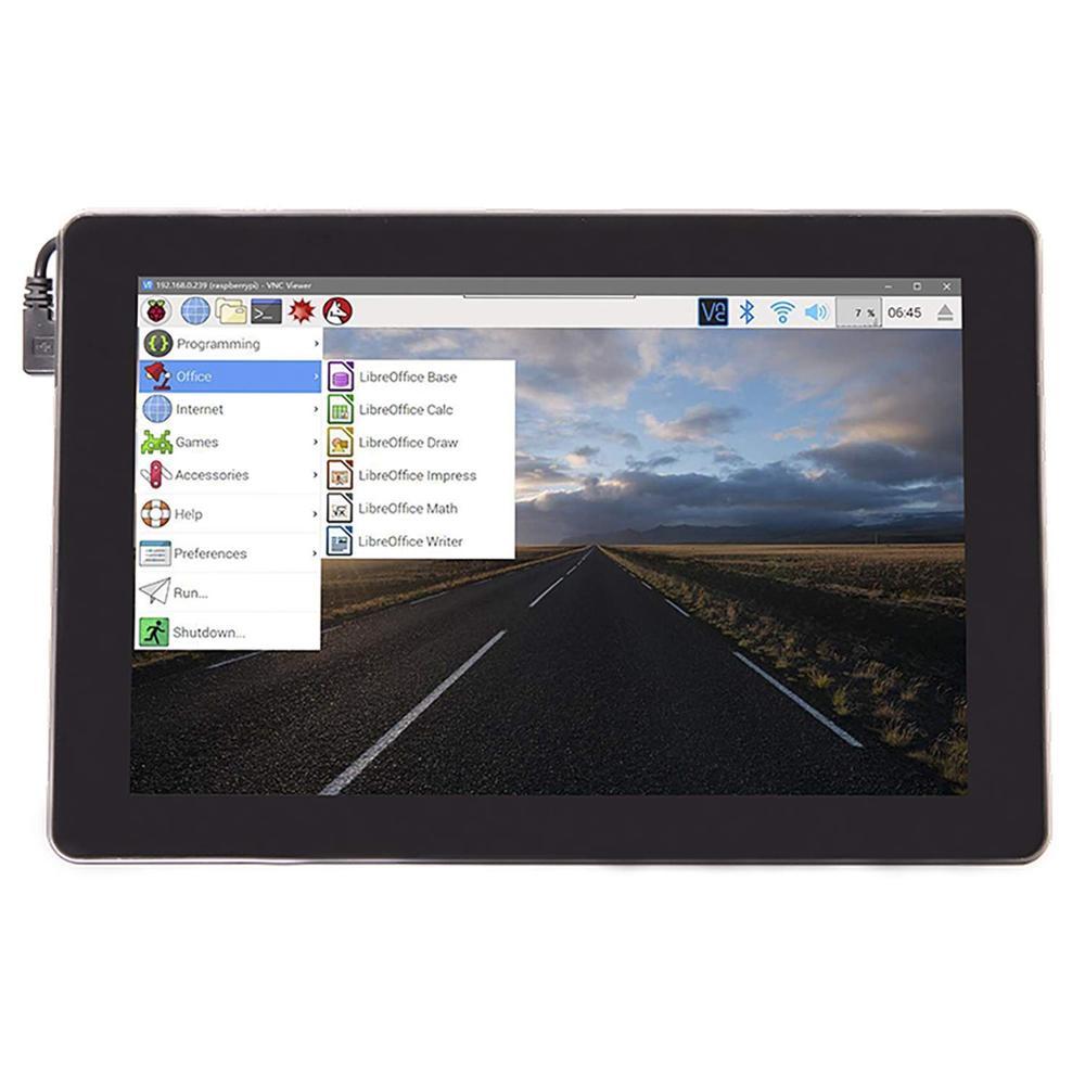 Sunfounder Raspad Raspberry Pi планшет Bulit в Батарея, 10,1 ''сенсорный экран и аудио в одном для Raspberry Pi 3B + и IoT/AI