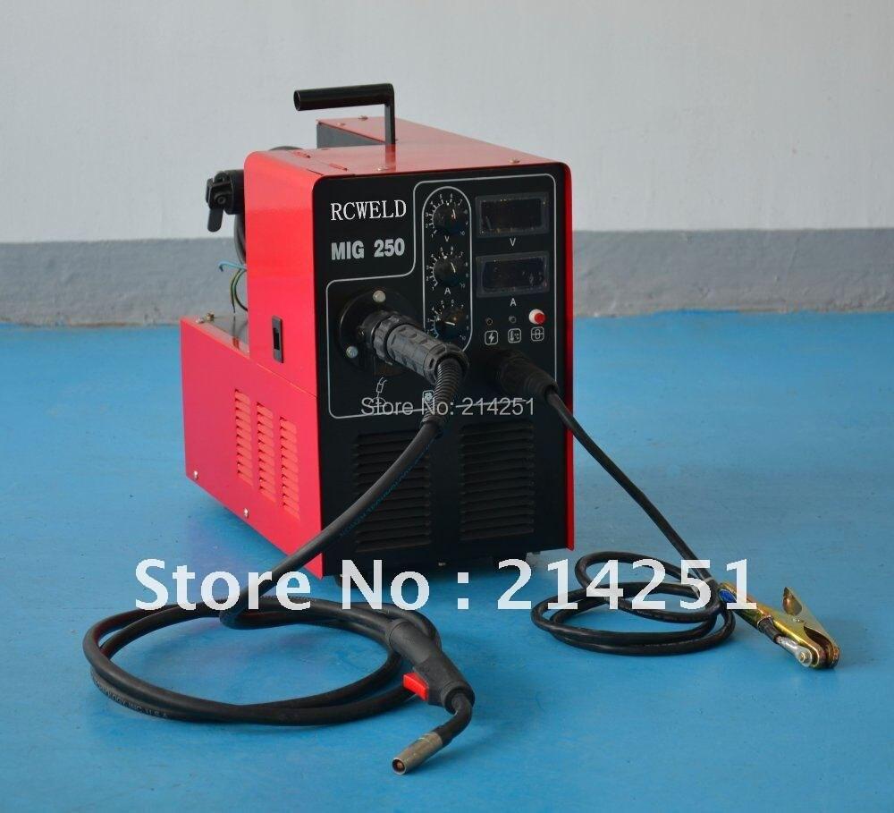 HITBOX MIG Welder No Gas MIG Welding Machine MIG100A Single Phase ...