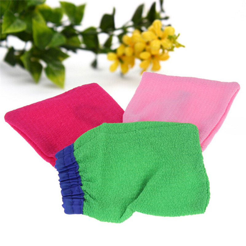 1PCS Korean Magic Peeling Glove Hammam Scrub Mitt Exfoliating Tan Removal Mitt Bath Accessories Random Color