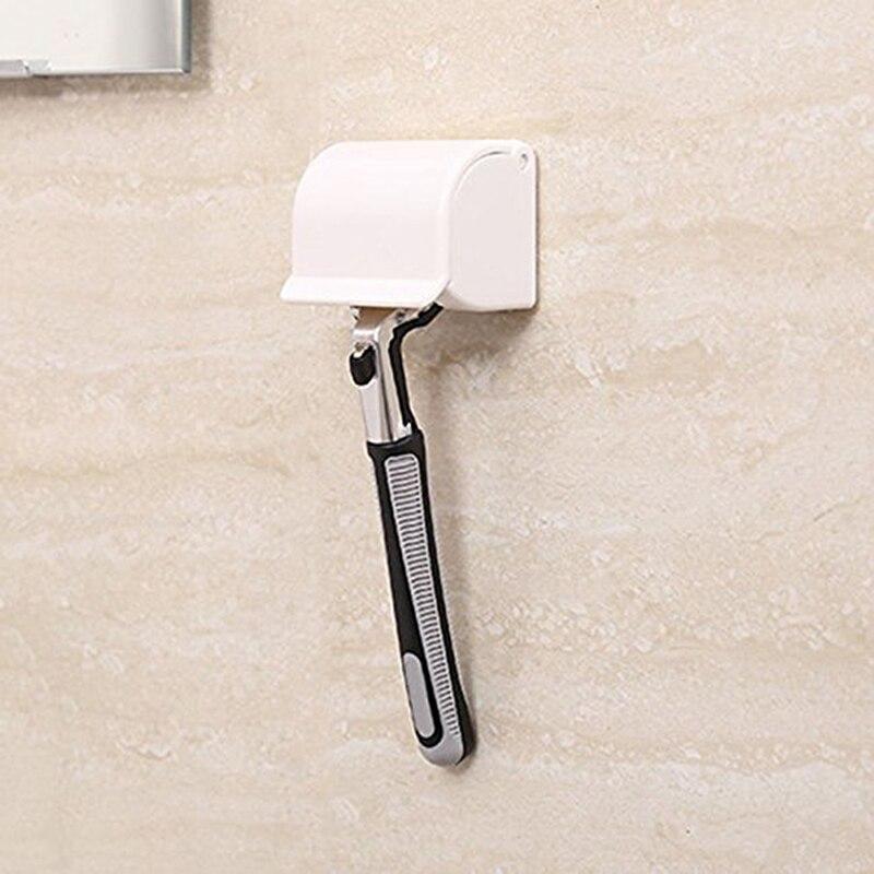 Multifunction Sucked Suction Cup Razor Shaver Holder Hanger Useful Bathroom Tool