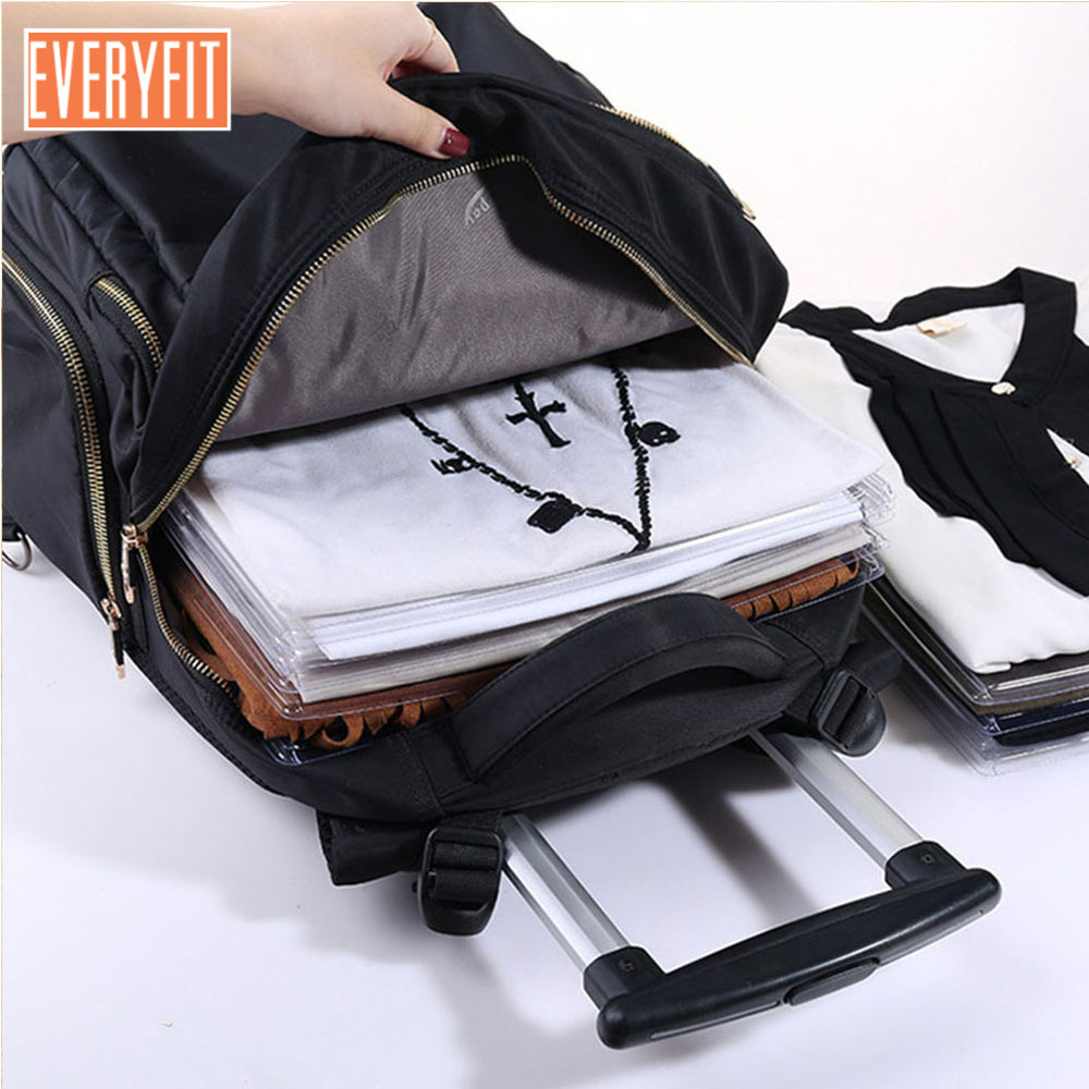 Everyfit Clothes Organizer System Fold Board File Closet Cabinet Organization