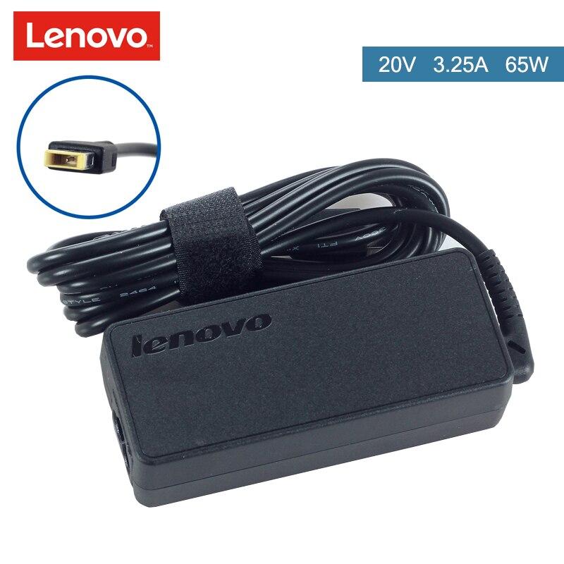 65 w 20 v 3.25A D'origine Chargeur Portable Adaptateur Pour Lenovo X240 G400 G40 ADLX65NLC3A