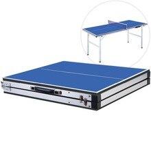 150(Д)* 66(Ш)* 68(В) см 18 кг Сверхлегкий портативный мини складной настольный теннис столы для родителей и детей студентов взрослых спортивная игра в помещении