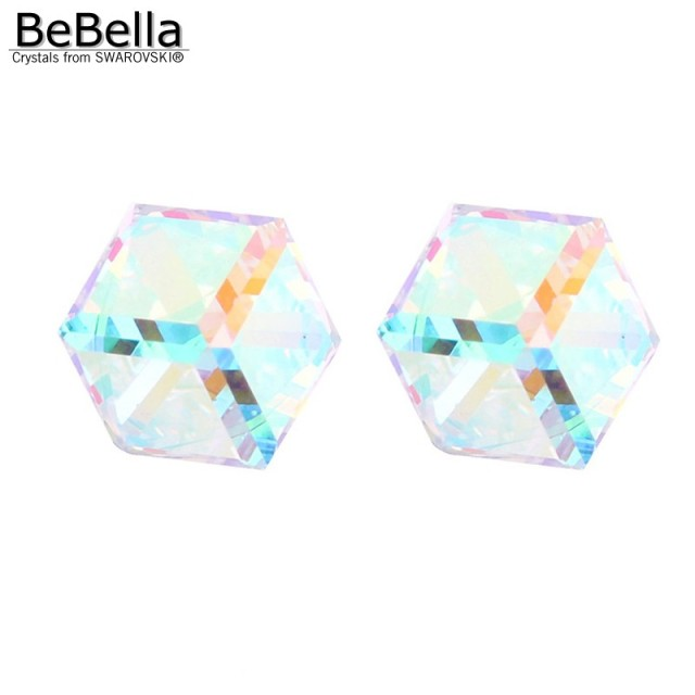 BeBella Swarovski Crystal Stud Earrings