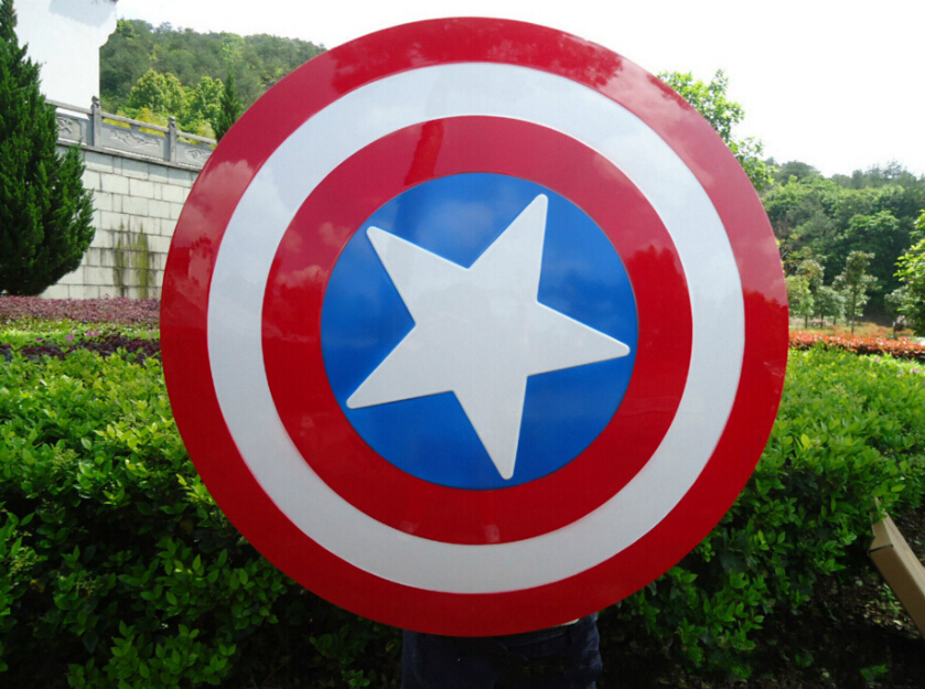 Captain America Shield 1:1 The Avengers Capitan America del Costume Cosplay Arma Amor Puntelli Guerra Civile Steve Rogers Cosplay Shield