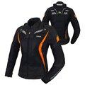 Benkia mujeres chaqueta de la motocicleta moto motocross racing chaquetas ropa jaqueta motoqueiro protectora racing traje femenino