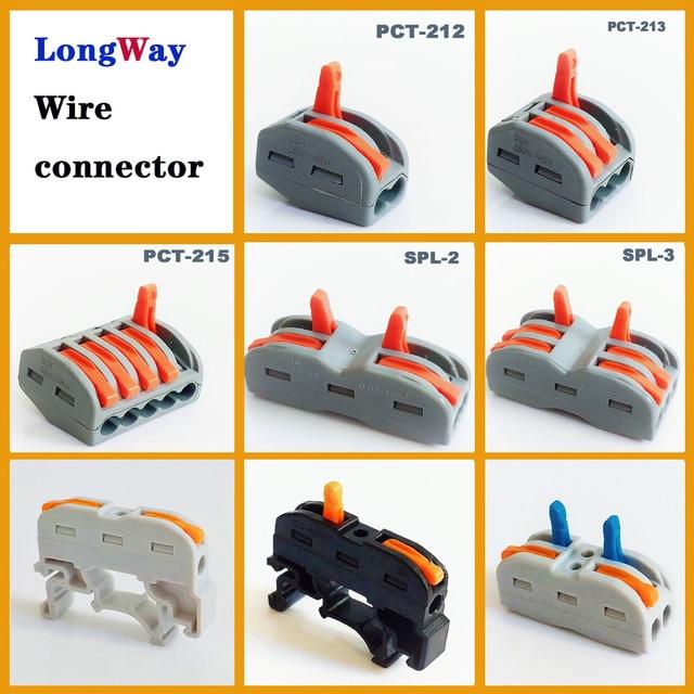 Dây Kết Nối dây cắm điện 2pin 3pin hít cáp Kết Nối Nhà Ga Khối SPL-2 212 loại mini nhanh Điện dây cổng kết nối