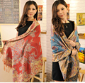 Free Shipping Hot Sale Bohemia Style Women's Cashmere Pashmina Shawl Scarf Wrap SH-0026