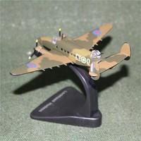 ATLAS 1/144 Scale Military Model Toys World War II Lockheed Hudson Maritime Patrol Aircraft Diecast Metal Plane Model Toy