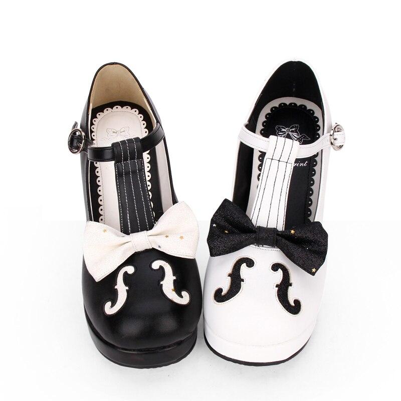 Main 47 Femme Mori À Légales Noir Haute Fille Note La Chaussures blanc Angéliques Pompes Princesse Robe Lolita Lady Mentions Partie Cosplay Femmes 33 Talons xIWnSYqWR