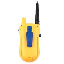 Abbyfrank 2Pcs Intercom Electronic Walkie Talkie Toy Spy Gadgets Intercom Children Portable Two-Way Radio Set Children Toy Gift