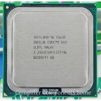 Oryginalny Procesor intel core 2 duo E8600 E8600 INTEL CPU (3.33 Ghz/6 M/1333 GHz) gniazdo 775 nadaje się z G31 G41 płyty głównej