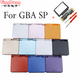 Image 1 - Ting Dong For Nintend GBA SP For Gameboy Housing Case Cover Replacement Full Shell For Advance SP