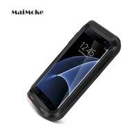 Mode Voor Samsung S6 Case Metalen Buitensporten Cover Voor Samsung S7 S5 S4 Opmerking 4 5 Case Legering Mobiele Telefoon Cover