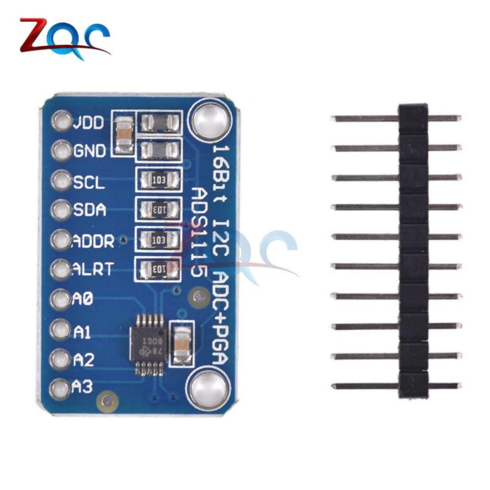 16 Bit I2C ADS1115 Module ADC 4 Channel With Pro Gain Amplifier RPi  Development Board